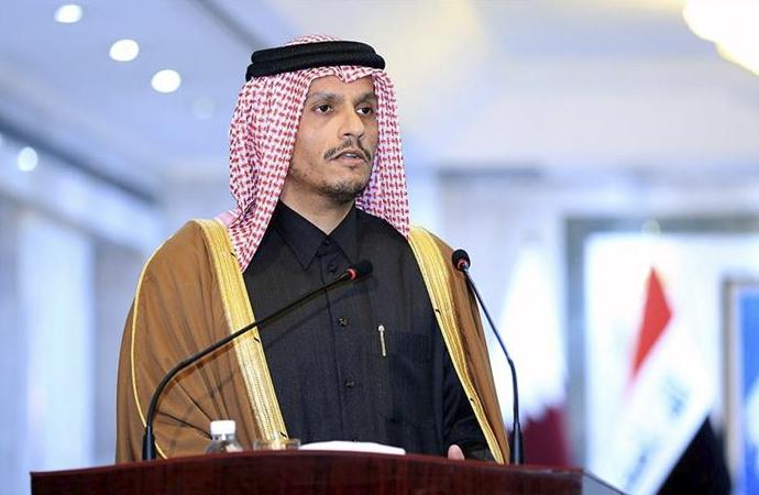 Katar: İlhakı kabul etmiyoruz, Filistin'e desteğe devam edeceğiz