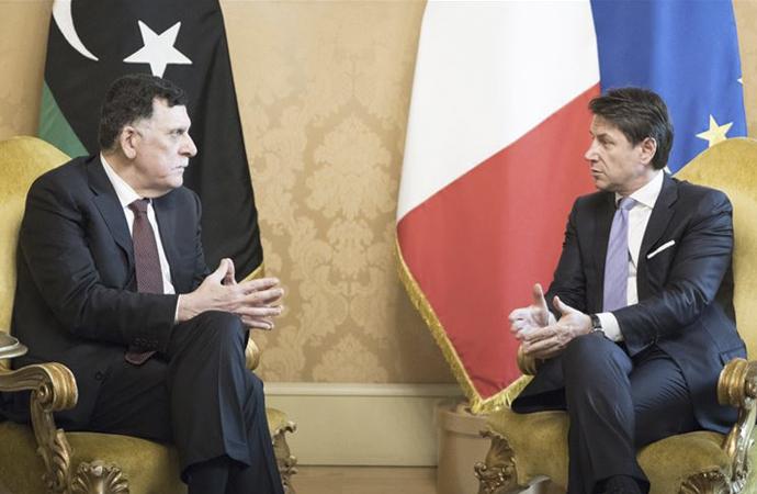 Serrac, İtalya Başbakanı ile Roma'da görüştü