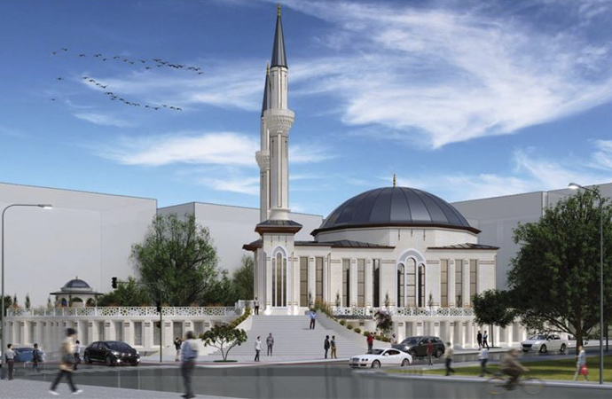 Kızılay'a cami yapımı konusunda anlaşma
