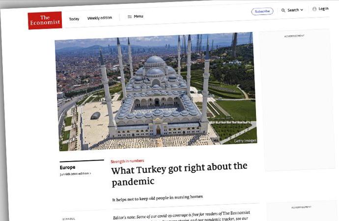The Ekonomist'te Erdoğan ve Ak Parti övgüsü