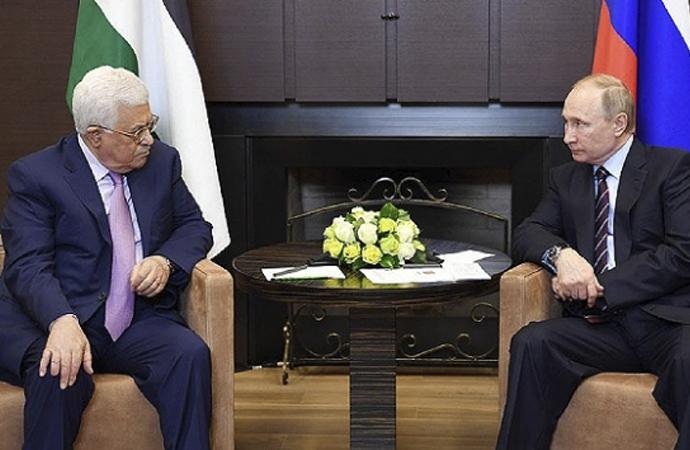 Mahmud Abbas – Putin arasında telefon görüşmesi