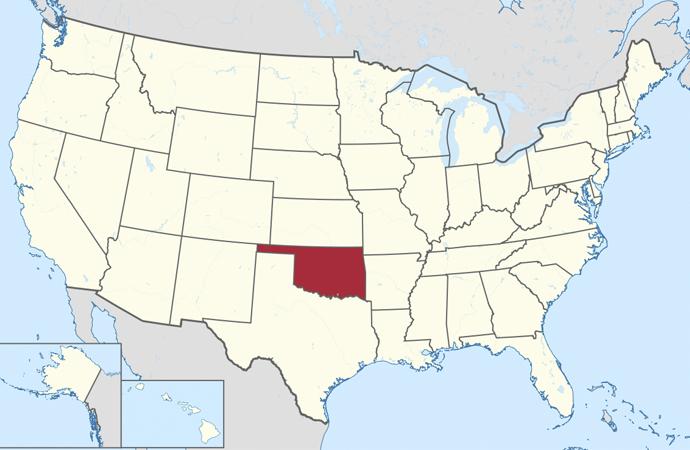 Oklahoma'nın yarısı Kızılderililerin toprağı