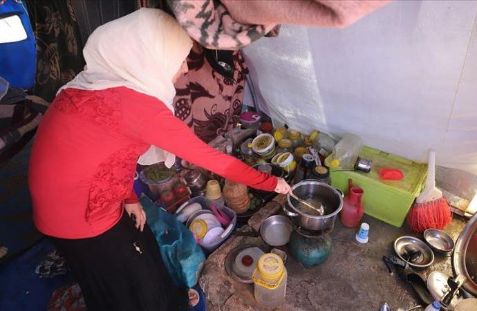 Suriye kamplarında açlık korkusu
