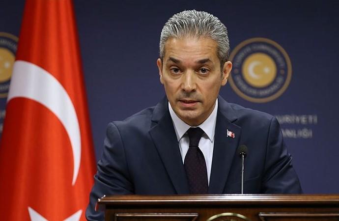 """Avrupa'ya """"Türkiye'nin egemenlik hakkı"""" tepkisi"""