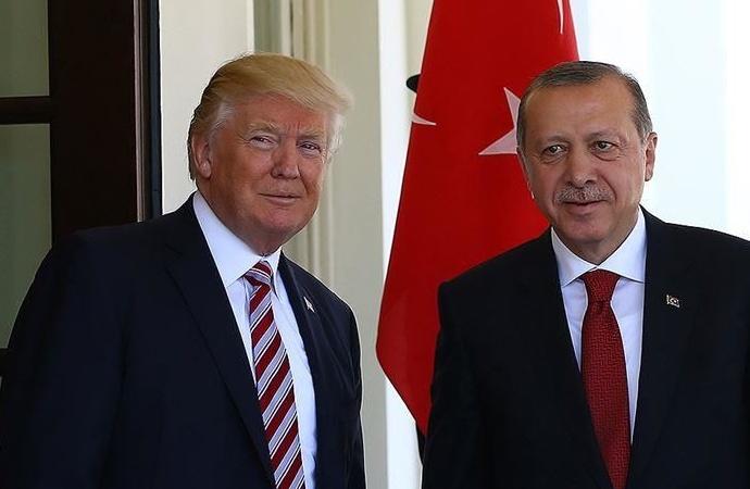 Erdoğan-Trump telefon görüşmesi