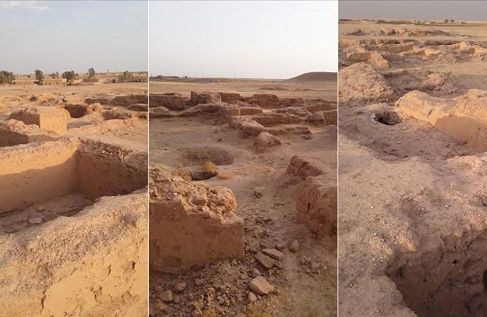 Fransız arkeologlar Suriye'de gizli kazı yapıyor iddiası