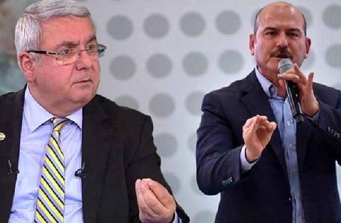 Canlı yayında Mehmet Metiner-Süleyman Soylu tartışması