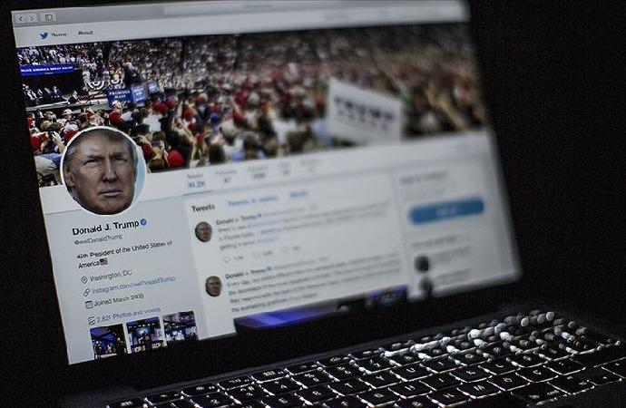 Twitter'dan Trump'ın hesabına müdahale
