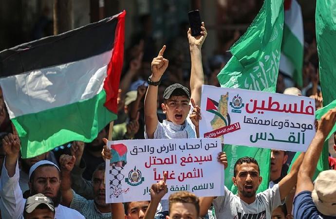 Fetih ve Hamas, Gazze'de ortak gösteri düzenleyecek