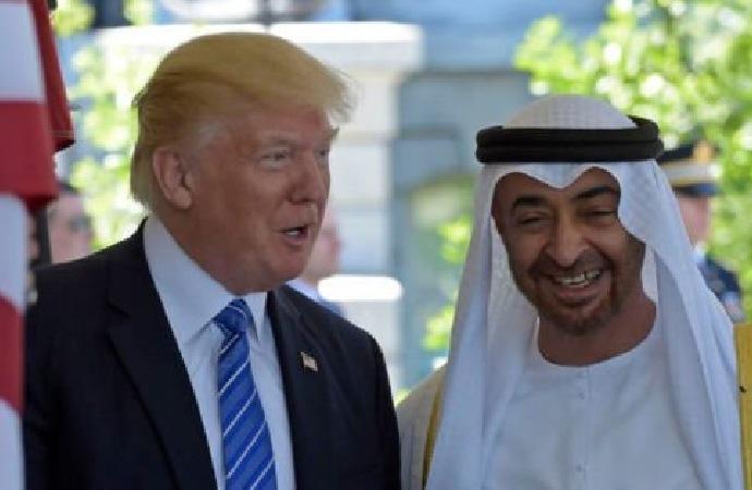 Trump ile BAE Prensi el-Nahyan telefonda Libya'yı görüştü