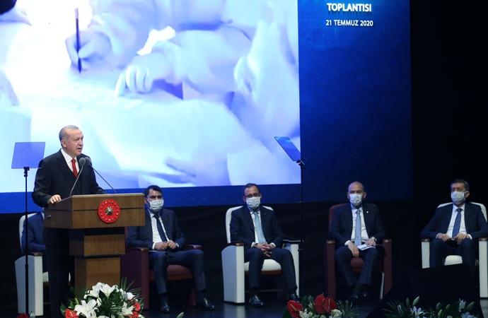 Erdoğan'dan 'yeni sistem' değerlendirmesi: 'Sistemin oturması vakit alacak'