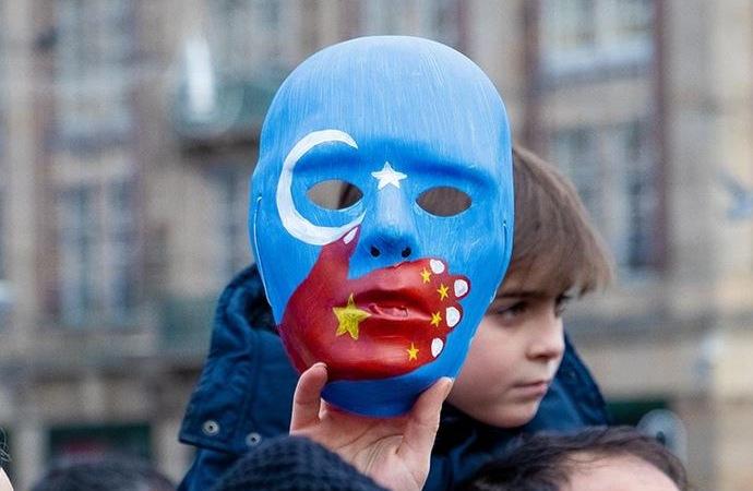 Uygur Türkleri için Çin'e karşı eylem çağrısı