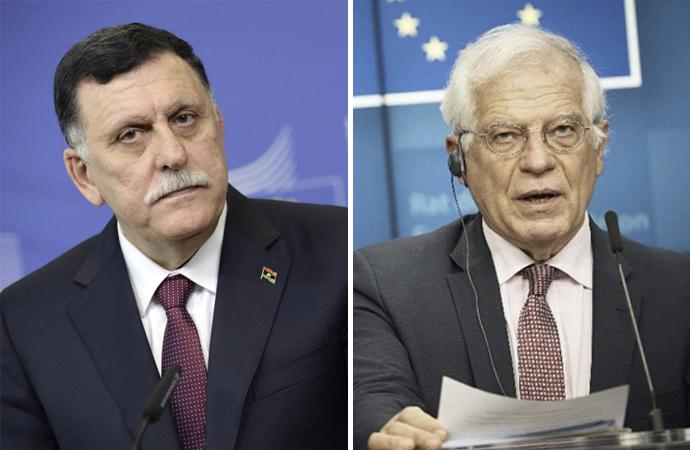 Serrac, Avrupa Birliği temsilcisi ile telefonda görüştü