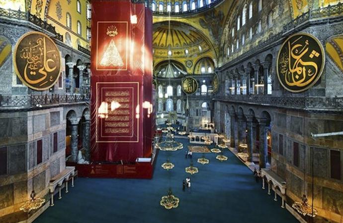 Yunanistan: Ayasofya'nın camiye dönüştürülmesi tüm dünyaya provokasyon