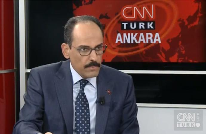 Kalın: 'Rejim tartışması çıkarmak suni bir gündemdir'