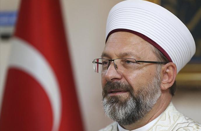 """Ali Erbaş'tan """"Müslüman dini liderlere"""" Ayasofya mektubu"""