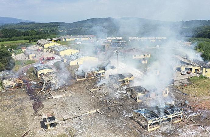 Sakarya'da havai fişek fabrikasında patlama: 4 vefat, 97 yaralı