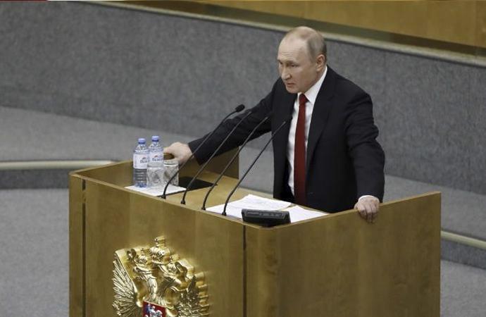 20 yıldır iktidardaki Putin'e referandumla 16 yıl daha