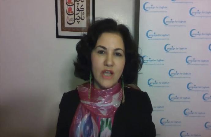 Uygur Hareketi lideri Rushan Abbas'tan İslam dünyasına sitem