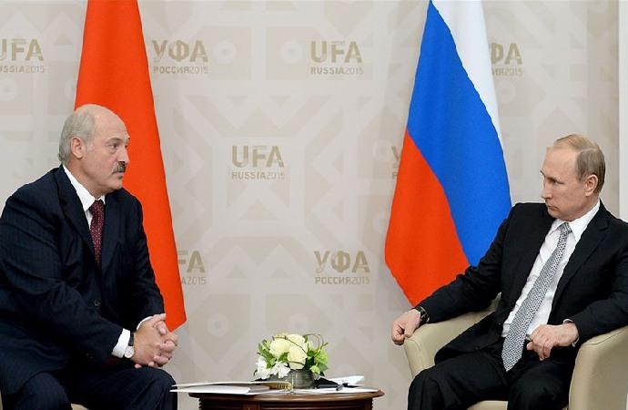 Lukaşenko-Putin görüşmesinde protestolar konuşuldu