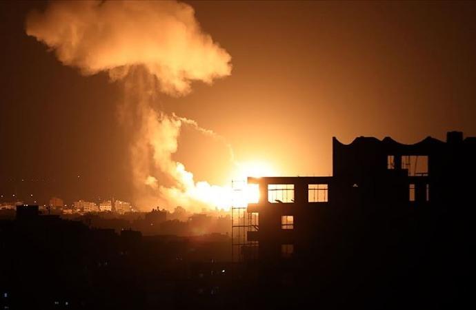 İsrail'in Gazze'ye yönelik saldırıları devam etti