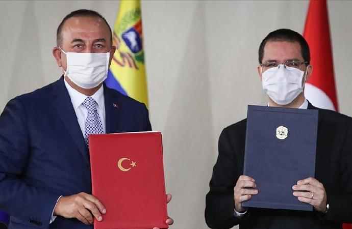 Türkiye ile Venezuela arasında bir dizi anlaşma imzalandı