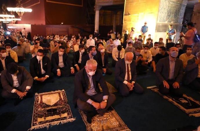 Kültür Bakanlığından Ayasofya'da mevlit