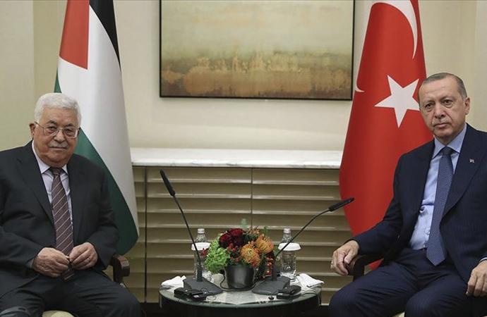 Erdoğan – Mahmud Abbas telefon görüşmesi