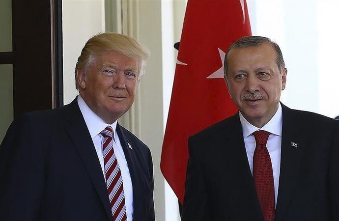 Erdoğan-Trump arasında telefon görüşmesi