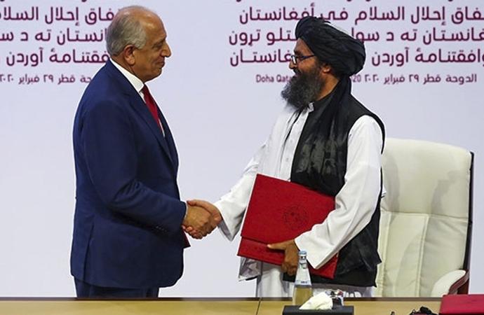 """Afgan Hükümeti: """"Taliban'la müzakereler haftaya başlayacak"""""""