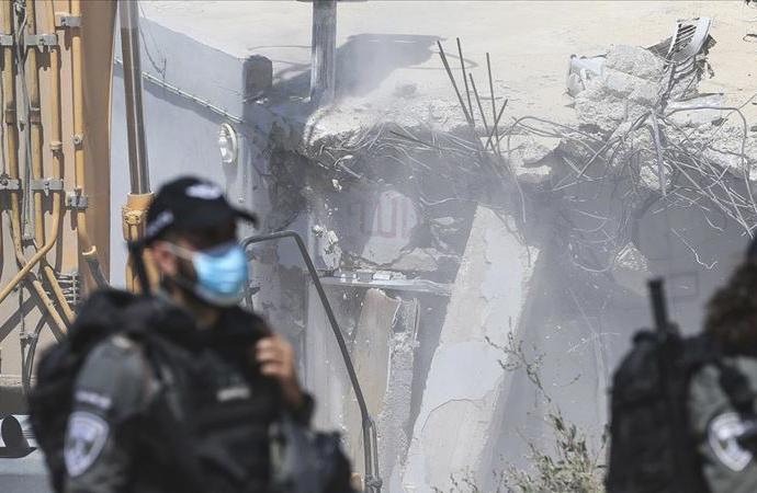 'İsrail, Filistinlilerin evlerini yıkarak ilhak planını fiilen uyguluyor'