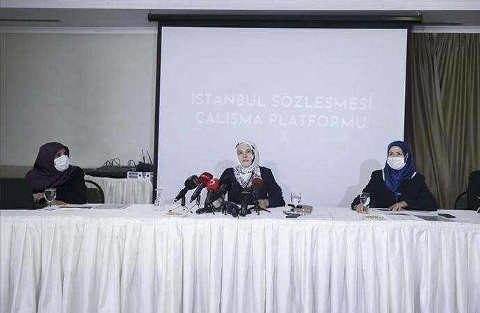"""İstanbul Sözleşmesi yerine """"yerli ve milli yasal düzenleme"""" önerisi"""