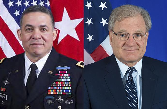 Amerikan heyeti Libyalı taraflarla görüştü