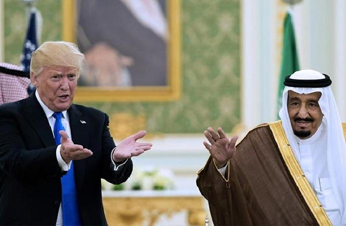 Kral Selman ile Trump arasında telefon görüşmesi