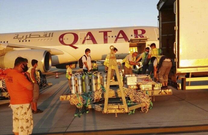 Katar kraliyet ailesi 2 kamyon eşya ile Bodrum'a geldi