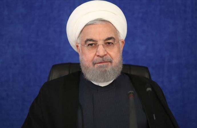 Ruhani: ABD, yıllardır İran rejimini yıkmanın peşinde