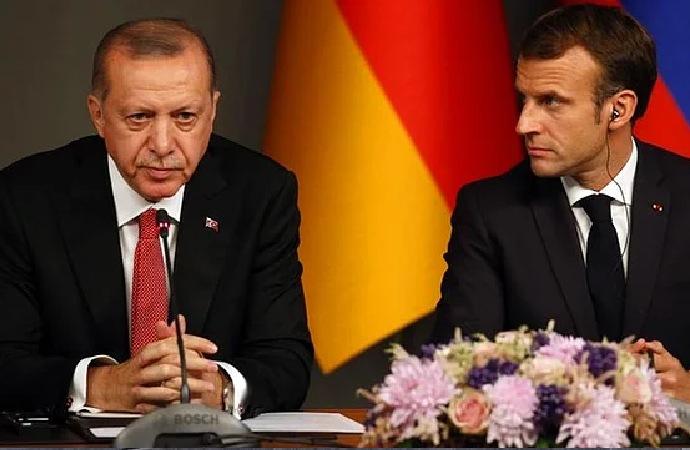 Macron'un Erdoğan'la ilgili sözlerine sert tepki
