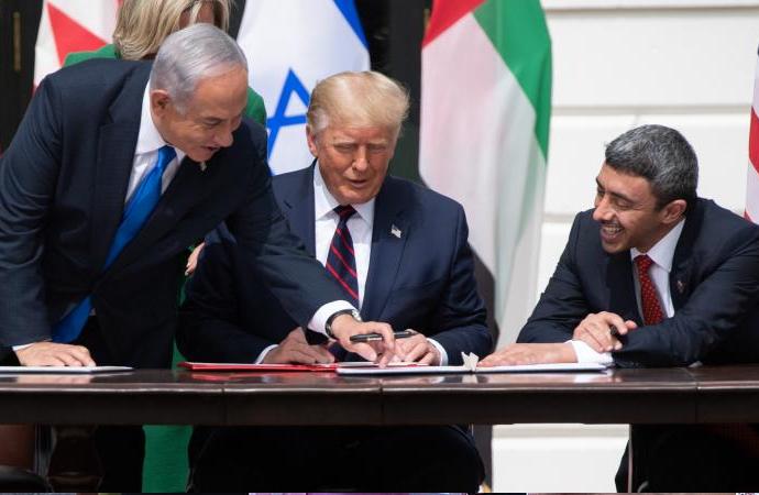 İsrail'le anlaşmaya karşı 200 bin imzalı Filistin Bildirisi