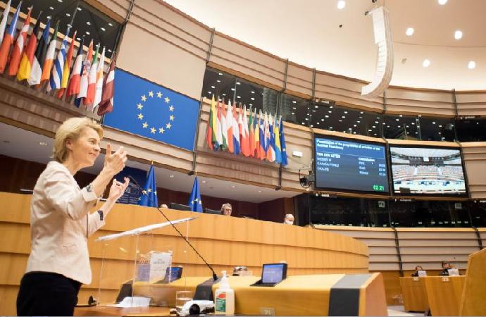 """Avrupa Birliği """"Birliğin durumu""""nu konuştu"""