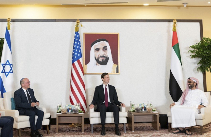 BAE-İsrail-ABD ortak açıklama yayımladı