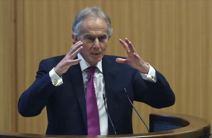 """Blair'den """"Filistin yönetimi değiştirilsin"""" çağrısı"""