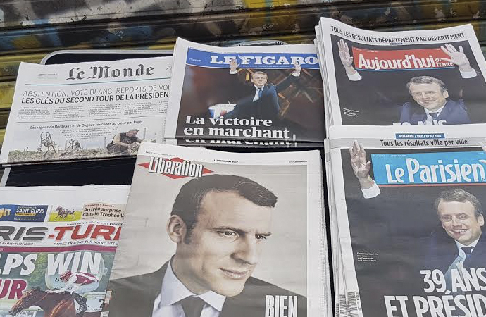 Fransa'da bazı gazetelere soruşturma başlatıldı