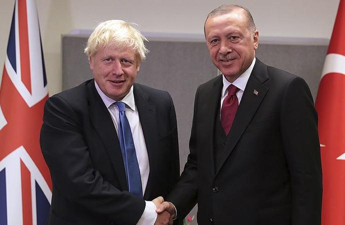 Erdoğan – Johnson telefon görüşmesi