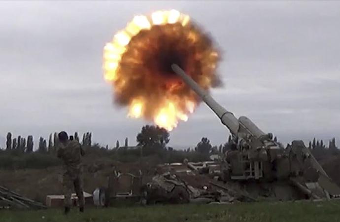 Azerbaycan 2.300 Ermeni askerinin etkisiz hale getirildiğini duyurdu