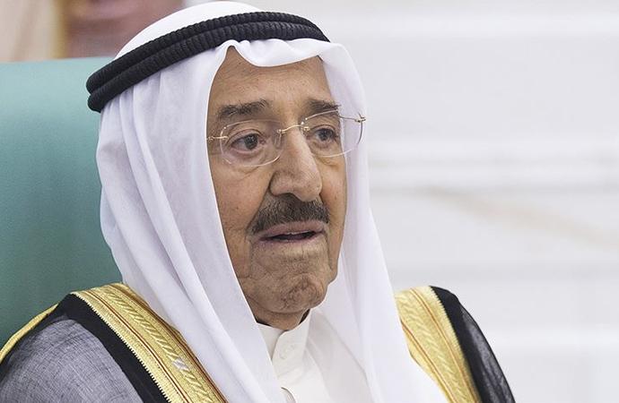 Kuveyt Emiri vefat etti, 7 ülkede yas var