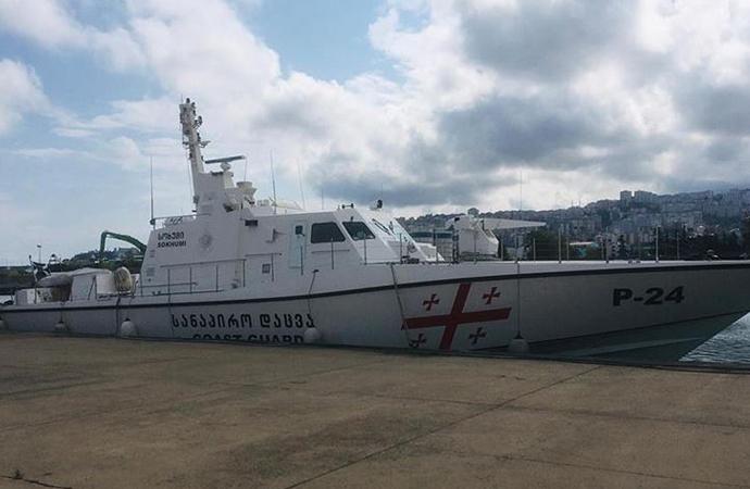 Gürcistan'a ait sahil güvenlik botlarının bakım ve onarımı Türkiye'de yapıldı