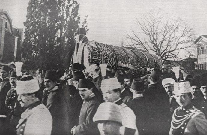 Sultan Abdülhamid'in Cenaze Merasimi