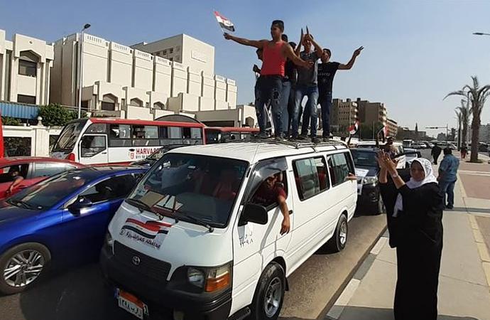 """Mısır'da """"kenar mahalle eylemleri"""" yönetimi endişelendiriyor"""