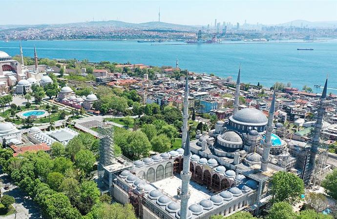 İstanbul'da en az cami Adalar'da