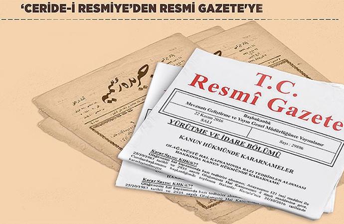 'Resmi Gazete' 100 yıldır yayında